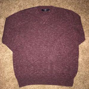 J. Crew Men's Burgundy Sweater